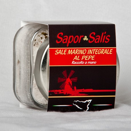 Integral Sea Salt with Pepper