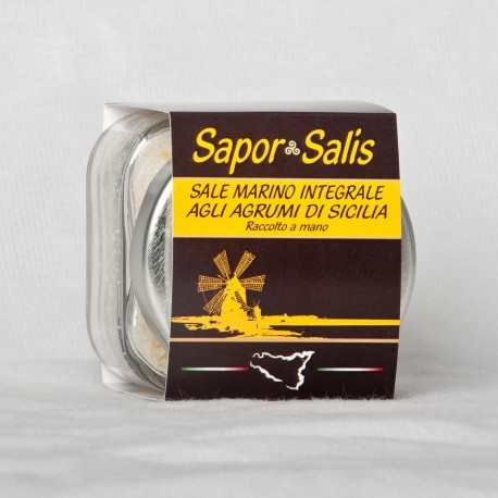 Integral Sea Salt with Lemon